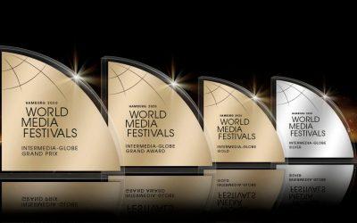 1616prod de nouveau récompensée avec 4 prix au WorldMediaFestival 2020 d'Hambourg