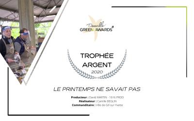 Trophée à Deauville pour notre film sur le confinement