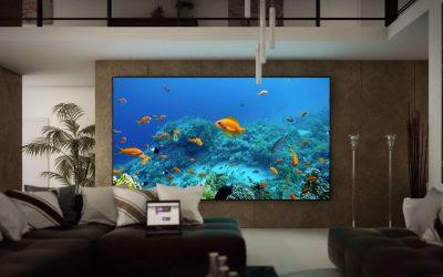 Motion design 3D pour LG Electronics